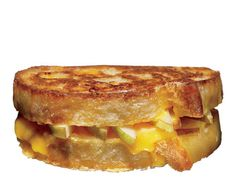 Grilled Cheese with Pears - Thickly butter (or brush with good olive oil) both sides of two pieces of sandwich bread. Layer the insides with sharp cheddar cheese or fontina, and thinly sliced, fully ripe pears. Pan-grill (use a panini maker if you have one) until the bread is golden and the cheese has melted.