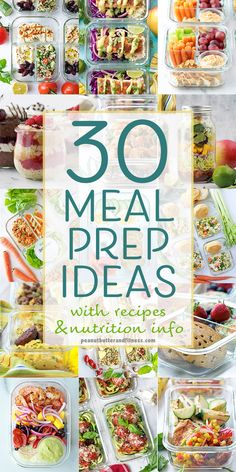 30 Meal Prep Ideas for Back to School or Back to Work