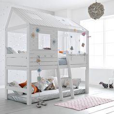 SILVERSPARKLE CHILDREN'S HIGH HUT BED