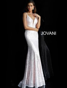 de770d526d1 Jovani Prom 66383. sparkling form fitting prom dress for prom 2019.  www.bravurafashion