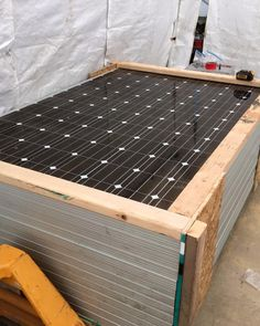 Marder 10KW PV is Officially off Line  Half in the Box Getting ready to be shipped to the new Making Glass East Harvard MA