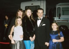 Andy Garcia with family