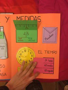 Completo Lapbook de matemáticas para primaria - Imagenes Educativas Interactive Learning, Interactive Notebooks, Kids Learning, Fourth Grade, Third Grade, Touch Math, Teaching Geometry, 5th Grades, Mathematics