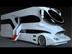 The Marchi eleMMent (pictured above) certainly looks like a crazy futuristic concept bus/RV, but it is real. The crazy design is based on on of the Luigi Colani truck concepts. Colani Design, Luxury Rv, Luxury Vehicle, Luxury Office, Hot Cars, Exotic Cars, Concept Cars, Cars And Motorcycles, Luxury Sports Cars