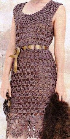 Image gallery – Page 307863324526429148 – Artofit Crochet Short Dresses, Crochet Beach Dress, Crochet Summer Tops, Crochet Blouse, Crochet Clothes, Crochet Lace, Knit Skirt, Dress Skirt, Crochet Eyes