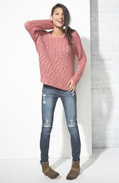 Cozy, comfy in this relaxed sweater.