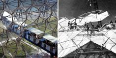 Richard Buckminster Fuller, Padiglione USA, Expo 67, Montreal - Prefab system