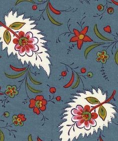 Souleiado La Trmontane pattern...used on French chairs in family room...