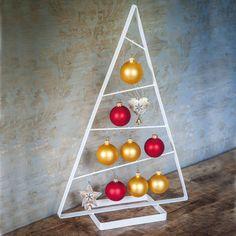 Tanne Silber Deko Weihnachten Tannenbaum Schmiede Metall Weihnachtsbaum