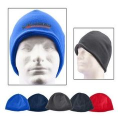 d06aa663300 Embroidered Fleece Beanie. Stretches to fit most adult head sizes.   corporate gifts