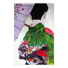 Japanese Geisha art with kimono and umbrella Personalized Stationery http://www.zazzle.com/japanese_geisha_art_with_kimono_and_umbrella_stationery-229923593370493836?rf=238588924226571373