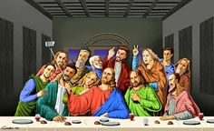 Selfie: Satirical Illustrations Of Religious People By Gunduz Agayev Holy Selfie: Satirical Illustrations Of Religious People By Gunduz Agayev Selfies, Tgif Funny, Hilarious, Caricatures, Satire, Blog Art, Satirical Illustrations, Religious People, Social Injustice