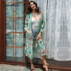 Simple Floral print shirt Women sashes pocket long sleeve     GET IT HERE ==> https://giftsegment.com/simple-floral-print-shirt-women-sashes-pocket-long-sleeve-girlfriend-gift-ideas/    #girlfriend #boyfriend #gift #ideas #giftideas