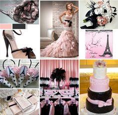 Parisian Themed Wedding Ideas