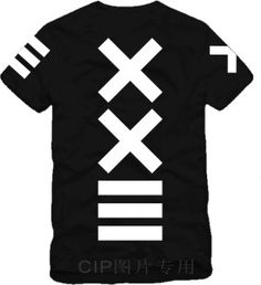 Hot selling Lovers XXlll T shirt Hiphop Streetwear pyrex 23 HBA Short sleeve T shirt Men's Cotton Top 4 Colors-inT-Shirts from Apparel & Acc...