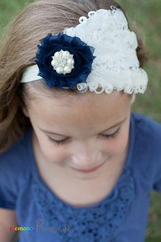 hermosa vintage inspirado diadema glam venda del beb cinta para la cabeza