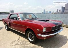 1966 FORD MUSTANG VIN: 6T07T232845