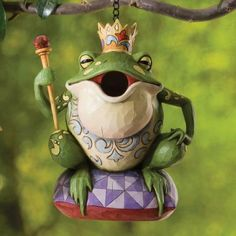 Birdhouse Frog by Jim Shore
