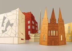 Melbourne Paper Sampler - Madeleine Kee Portfolio - The Loop
