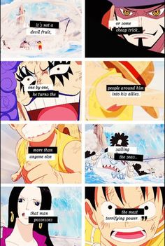 hawkeye knows Luffy's true power. To  make friends and allies with those that would never have to anyone else