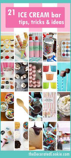 roundup: 21 ice cream sundae bar ideas: This summer with the kids!
