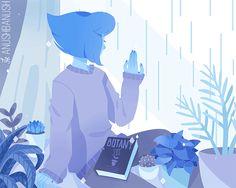 SU gif, Steven universe, fandom, Lapis Lazuli, SU Characters Lapis Lazuli Steven Universe, Universe Art, Planet Earth, Lapidot, Cartoon Network, Peridots, Planets, Fanart, Nerd Stuff