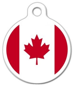 Canadian Flag Custom Pet ID Tag for Cats and Dogs Dog Tag Art SMALL SIZE * Check this awesome product by going to the link at the image. (This is an affiliate link) Dog Tags Pet, Pet Id, Cat Collars, Little Dogs, Tag Art, Dog Cat, Image Link, Cats, Leo