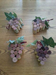 Vino regalo vino de uva ornamento decoración de por KolbyKrafts