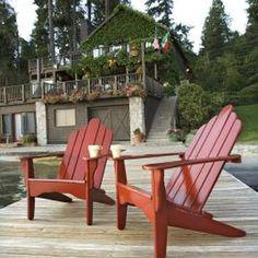painting outdoor wood furniture with a high gloss | dipinti ... - Mobili Da Giardino Idee Dipinte