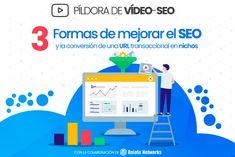 Cómo mejorar el SEO y la conversión de una URL transaccional | B30 Video Seo, Internet, Marketing, Texts, Report Cards