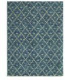 RugStudio presents Karastan Woven Impressions Diamond Ikat Indigo 35502-23135 Machine Woven, Better Quality Area Rug