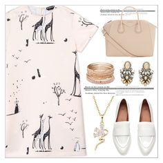 """Pink Spring Style"" by nickooe-zhou ❤ liked on Polyvore featuring Rochas, Givenchy and Red Camel"