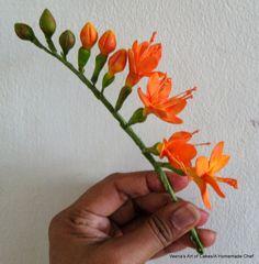 tutorial fiori in gum paste - Cerca con Google