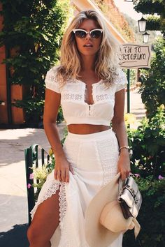 The best collection of Street Style Chic Summer Outfits Get To ASAP Natasha Oakley, Mode Hippie, Mode Boho, Modest Fashion, Boho Fashion, Fashion Outfits, Fashion Trends, Womens Fashion, Ladies Fashion