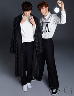 Hong Bin and Hyuk - Ceci Magazine December Issue '14
