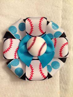 Baseball bow made by Brynlis bows