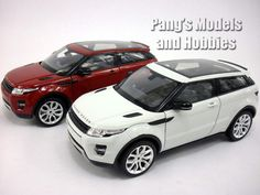 Land Rover Evoque 1/24 Diecast Metal Model by Welly – Pang's Models and Hobbies