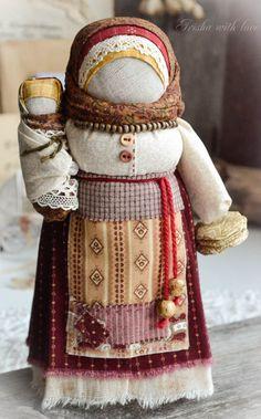Народные куклы ручной работы. Заказать кукла Масленица домашняя