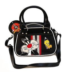 Bag looney #tunes tweety embroidery #bowling donna strap #shoulder bag women,  View more on the LINK: http://www.zeppy.io/product/gb/2/161745684721/