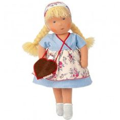 Kathe Kruse Waldorf Doll - Heidi. Made in Europe for Bella Luna Toys. $139.95