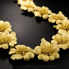 99.99% Pure Gold Goldmaster Flower Necklace