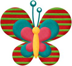"""Photo from album """"Ants Not Allowed"""" on Yandex. Butterfly Clip Art, Butterfly Quilt, Butterfly Images, Butterfly Party, Butterfly Crafts, Arte Country, Clip Art Pictures, Easy Quilt Patterns, Paper Crafts"""
