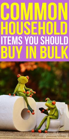 Buying in bulk can be a great way to save money assuming you buy the right things. Not everything on your shopping list should be bought in bulk. Ways To Save Money, Money Tips, Money Saving Tips, How To Make Money, Managing Money, Budgeting Finances, Budgeting Tips, Living On A Budget, Frugal Living
