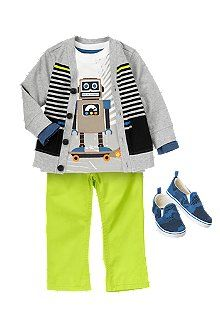 On A Mission Toddler Boy Outfit