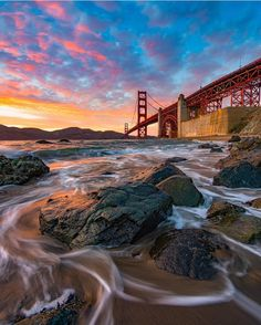 Golden Gate Bridge by nicholassteinbergphotography #sanfrancisco #sf