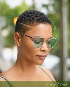 31 Best Short Natural Hairstyles for Black Women   Pinterest   Short ...