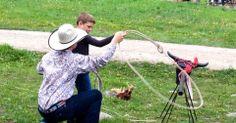 Roping 101 - Covered Wagon Ranch, #Montana. Dude Ranchers Association Member