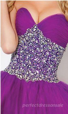 Strapless Natural Prom Dresses Long Purple Prom Dresses 00780