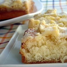 Streuselkuchen (German crumb cake)AKA - German Butter Cake from Cake Boss