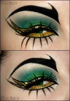 makeup hooded eyes eyeshadow lagane ka tarika to do green eyeshadow makeup day makeup makeup one color for smokey makeup eyeshadow looks easy makeup set Eyebrow Makeup, Eyeshadow Makeup, Easy Eyeshadow, Medusa Makeup, Younique Eyeshadow, Foil Eyeshadow, Yellow Eyeshadow, Gold Makeup, Matte Eyeshadow